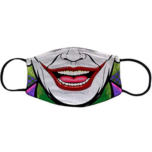 Cubreboca tapaboca Reutilizable Parodia Sonrisa de Joker - Adulto