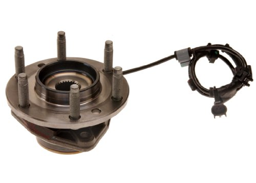 ACDelco FW121 GM Original Equipment Front Wheel Hub and Bearing Assembly with Wheel Speed Sensor and Wheel Studs