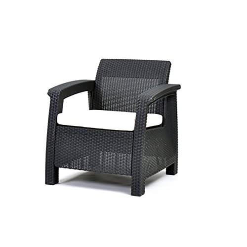 Rattan Armchair Amazon Co Uk