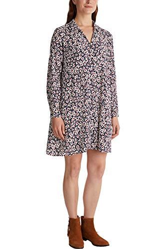 ESPRIT Hemdblusen-Kleid aus 100% Viskose