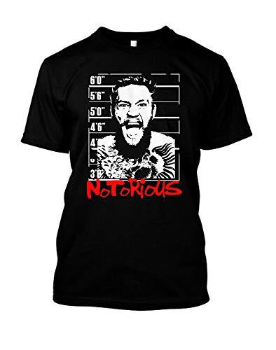 Notorious Connor Mcgregor Mug Shot T Shirt UFC MMA Ireland Mystic Mac Dana White