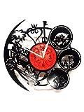 Kingdom Hearts Handmade Vinyl Record Wall Clock - Get unique home room wall decor - MARVEL COMICS Gift ideas for parents, teens – GOT Epic Movie Unique Modern Art WINTER IS COMING SEASON 7 6