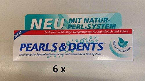 Dr. Liebe Pearls & Dents Zahnpasta 6er Vorteilspack (6x 100 ml)