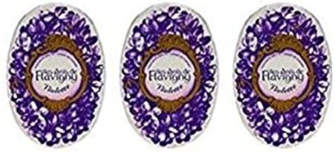 Violet Flavored Hard Candy 50 g by Les Anis de Flavigny (Pack of 3)