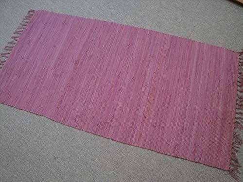 Garmisch Kelim - Tessuto a mano in India Lilla 100% cotone, tessuto a mano (170 x 120 cm)