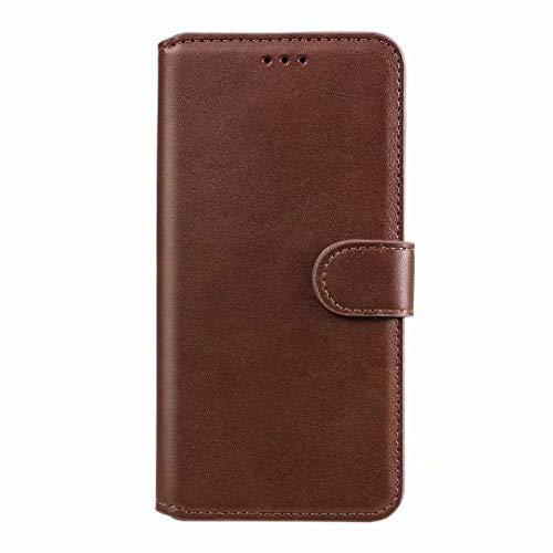 für Samsung Galaxy S21 Ultra 5G Hülle - Samsung S21 Ultra 5G Lederhülle Handytasche Kartensteckplätzen Schutzhülle Magnetverschluss Ständ Vollständiger Schutz Kratzbaum Leder Klappbörse Handyhülle