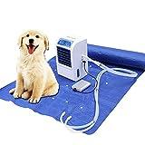 Colchón de agua de refrigeración para el hogar, colchón de hielo con control remoto inteligente, para el hogar, perros, mascotas y albergue