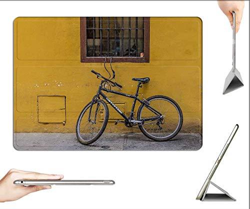Case for iPad Mini 5 & Mini 4 - Bike Bicycle Mountain Bike Building Wall Facade