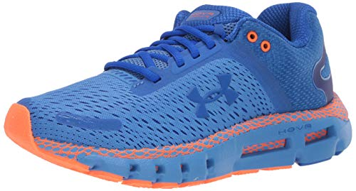 Under Armour Men's HOVR Infinite 2 Running Shoe, Water (401)/Orange Spark, 9.5