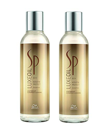 Wella 2x SP System Professional Care Luxe Oil Keratin Protect Shampoo 200 Ml