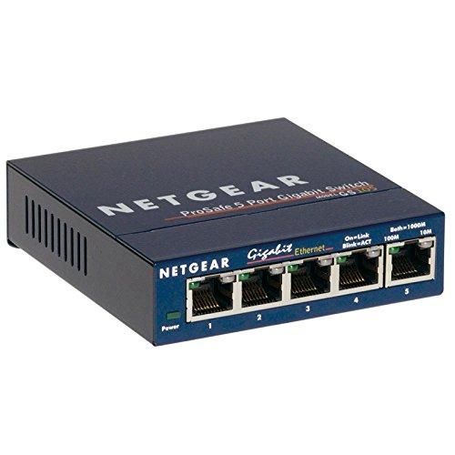 Netgear Switch ProSafe GS105272–11228–015x RJ-4510/100Mbit/s Gigabit LAN