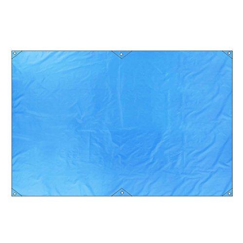 TRIWONDER Lona de Tiendas de Campaña Impermeable Oxford Portátil Toldo Camping para Playa Picnic al Aire Libre (Azul, M - 2.2 x 1.8m)