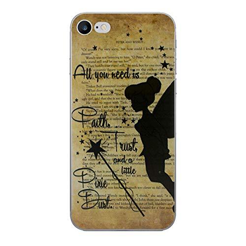 iCHOOSE Peter Pan gelbehuizing voor smartphone Apple iPhone 6 / 6s Bacchetta Magica