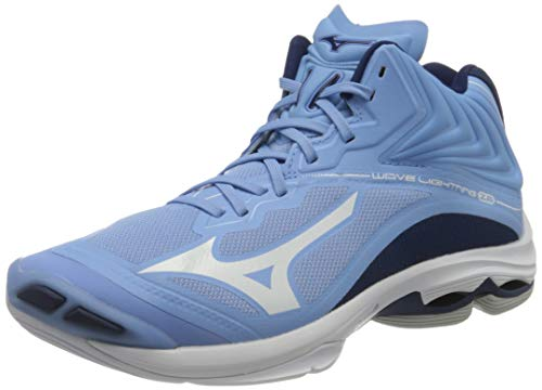Mizuno Wave Lightning Z6 Mid, Volleyball Shoe Uomo, Dellarblue/White/2768c, 37 EU