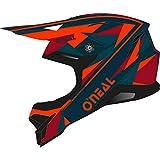 O'NEAL 3 Series Triz Motocross Enduro MTB Helm schwarz/rot 2020 Oneal: Größe: M (57-58cm)