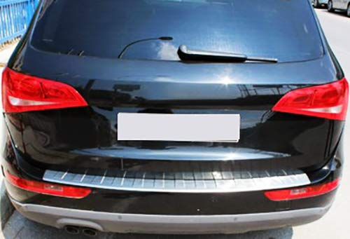 Chromeline per Audi A4 B8 Avant Estate 2010-216 cromato paraurti posteriore posteriore paraurti in acciaio inox spazzolato