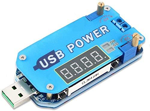 ARCELI 15W USB Ajustable Buck-Boost Módulo de Fuente de alimentación UP Down Converter DC 5V a 3.3V9V12V24V30V Router DP2