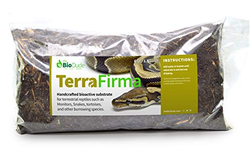 The Bio Dude Terra Firma Reptile Substrate 6 quarts for terrariums and vivariums