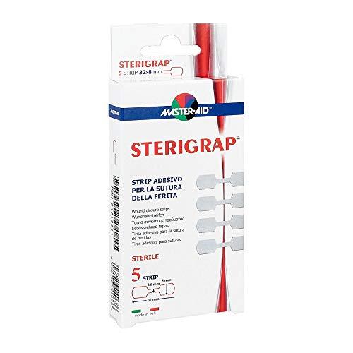 STERIGRAP Wundnahtstreifen 8x32 mm Knochenform 5 St
