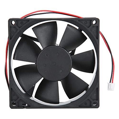 Hopcd Ventilador de disipador de Calor, Sistema de Ventilador de enfriamiento de 24 V 0.4A 9 cm para convertidor de frecuencia/inversor/máquina de Soldadura, Ventilador de enfriamiento de 3800 RPM