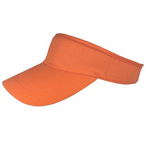 Balke Damen - Visor Sommer Sunvisor Sonnenblende Sonnenschild - 30104518 (Orange, ca. 55 cm - 59 cm)
