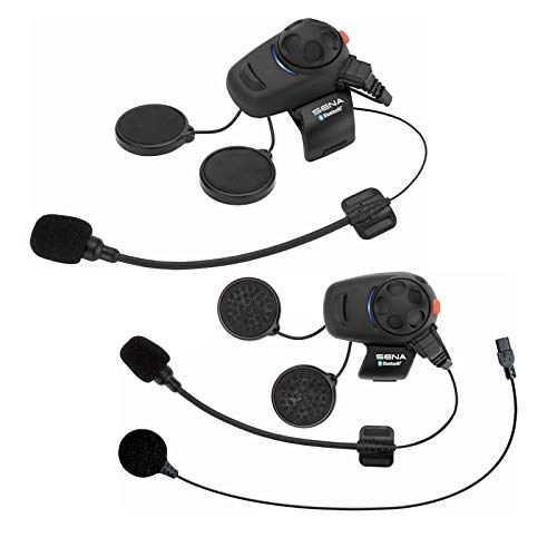 Sena SMH5D-UNIV Casque Audio & Intercom, Pack Double