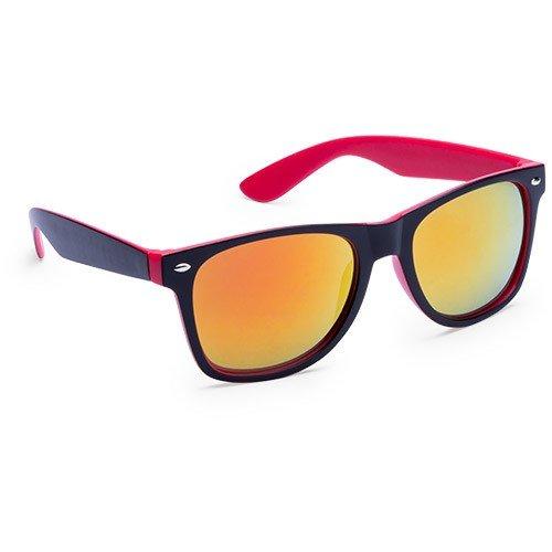DISOK - Gafas De Sol Colors Rojo - Ideal para Promociones y Regalos de Empresa