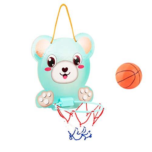 TOYANDONA Montiert Indoor-Basketballkorb Indoor-Basketballkorb Set Verstellbarer Basketballkorb für Kinder Kinder Baby Indoor-Büro zu Hause