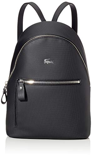 Lacoste Damen Daily Classic Rucksack, Schwarz (Black), 11x30.5x22.5 centimeters