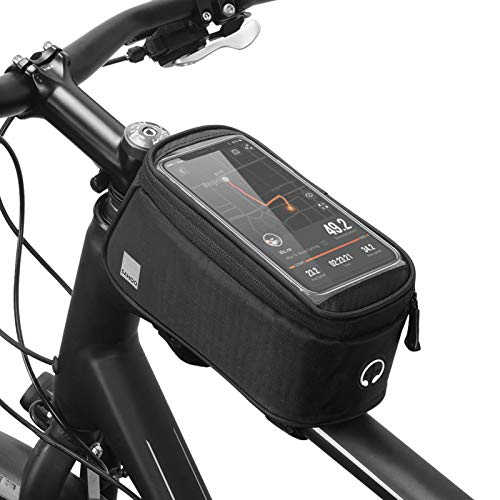 Lixada Touch Screen Waterproof Front Frame Top Tube Bicycle Pouch Hard Shell Large Capacity Cycling Front Storage Bag