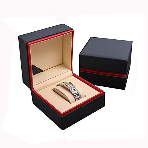 Nosterappou Männer und Frauen Geschenkbox hochwertige Uhr Box Armband Uhr Aufbewahrungsbox Licht Tragen