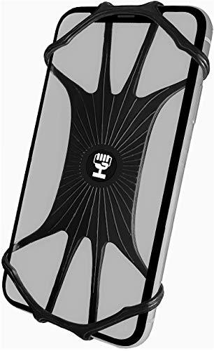 HiGrip - Supporto in silicone per bicicletta per iPhone 7 8 9 X XR XS 11 Plus Pro Max   Samsung Galaxy Note S6 S7 S8 S9 S10 S20