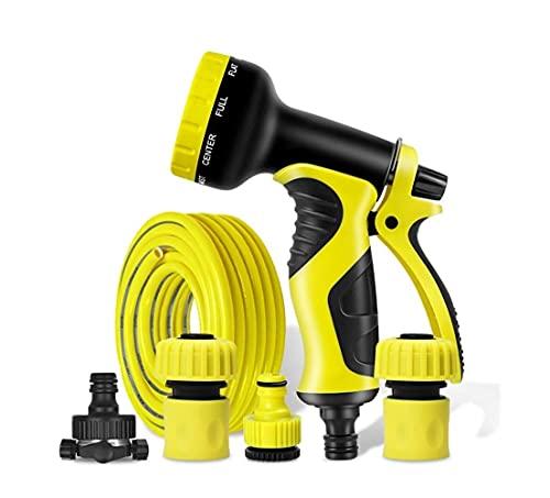 FHYTGBS Ugello a spruzzo da Giardino ad Alta Pressione 1 2 Tubo d Acqua espandibile con Tubo Flessibile per Il Tubo da Giardino espandibile Pistole da Giardino (10m-100m Set di Tubi Acqua)