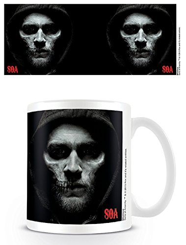 Sons of Anarchy MG23293 (Jax Skull) Coffee Mug, Multicolore, 11oz/315ml