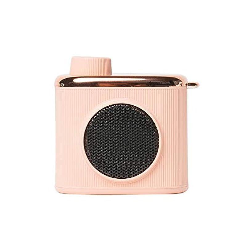 芸術的コントラスト意図的メモリレトロ小型スピーカーBTスピーカー屋外携帯電話スピーカーポータブルオーディオ付きミニポータブルサブウーファー-ピンク