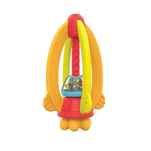 Manhattan Toy My Rocket Baby Hochet et Jouet de Dentition, 216760, Multicolore
