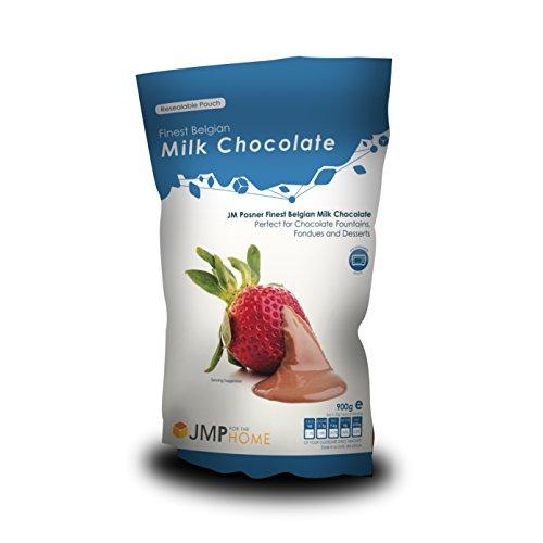 Busta del miglior cioccolato belga al latteo 900kg – Adatto per fontane di cioccolato e fondute