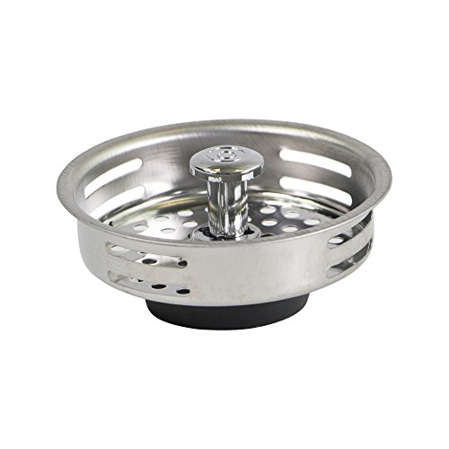 Highcraft 9843 Stainless Steel Kitchen Sink Strainer Basket-Replacement for Standard