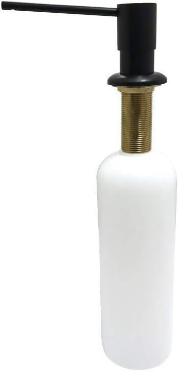Kingston Brass Sd3710 Naples Soap Dispenser Matte Black