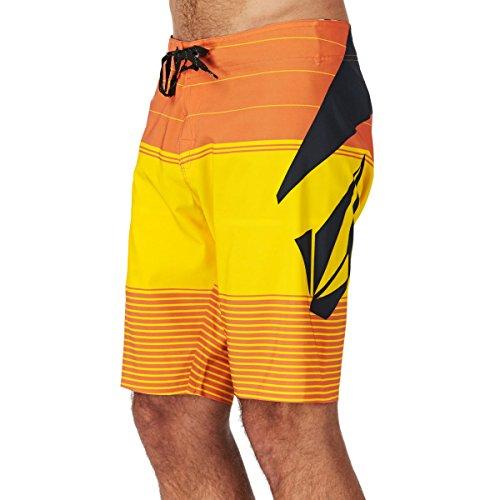 Volcom Herren Badehose Stoney Mod Boardshorts, Blazing Yellow, 31