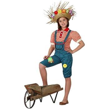 Atosa - Disfraz de granjera para niña, talla 3-4 años (16020 ...