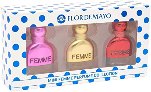 Flor de Mayo, Estuche Regalo Femme Collection - Gold Passion para mujeres - 3x20 ml.
