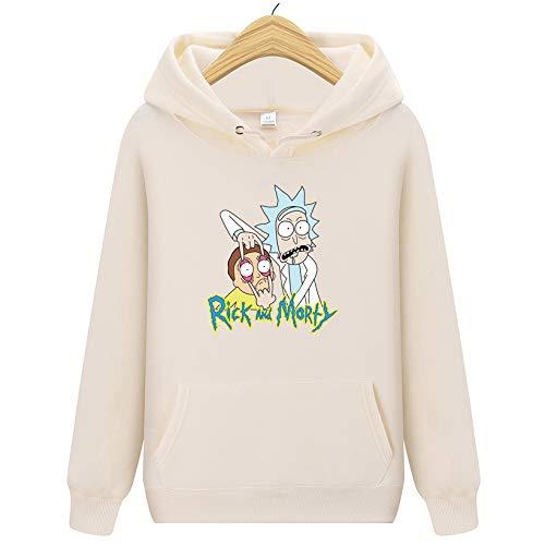 HOSD 2019 New Rick Morty Hooded Men Women Hoodies Sweatshirt Men Skateboards Male Cotton Hooded Sweatshirt