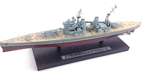 Générique HMS Prince of Wales - Royal Navy Warship- Atlas DE AGOSTINI 1/1250 - réf03