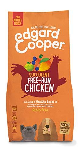 Edgard & Cooper Frisches Freiland-Huhn - Getreidefrei trockenfutter fur Erwachsene Hunde (7 kg)