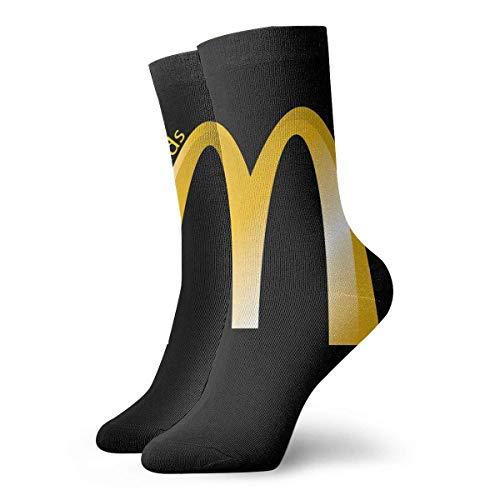 zicheng McDonalds Casual Socken, süße lustige Muster Socken