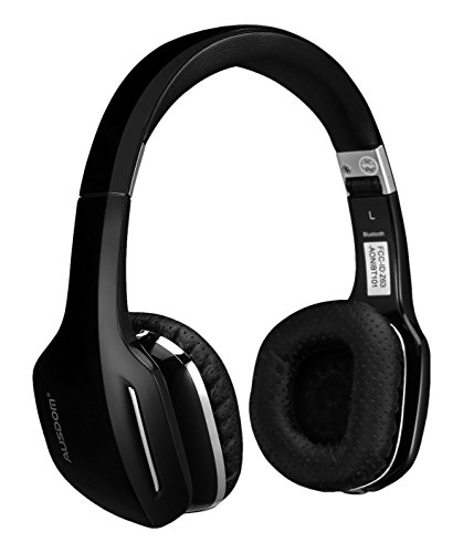 Ausdom M07 On-Ear Wireless Bluetooth Headphones with Microphone Foldable and