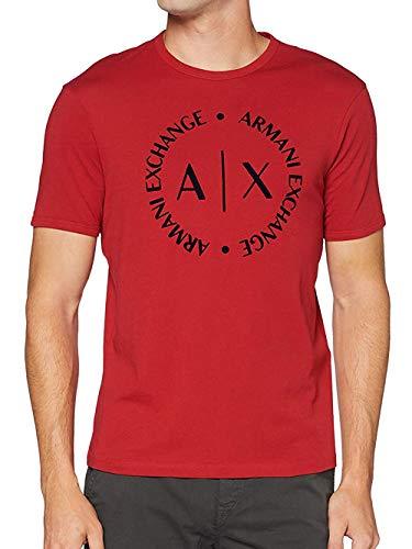 Armani Exchange T-Shirt Camiseta, Scooter, XL para Hombre