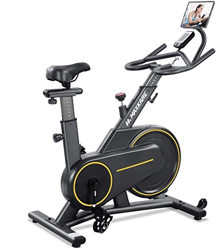 MaxKare Exercise Bike Stationary Magnetic Indoor Cycling...