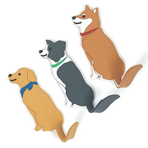 MIKA Möbel Tierhaken selbstklebend Kinder Wandhaken Handtuchhaken Schlüsselhaken Klebehaken Garderobenhaken Handtuchhalter ohne Bohren